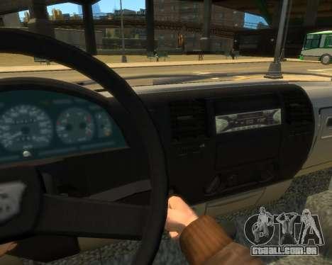 Gazela Evacuador DPS para GTA 4 vista direita