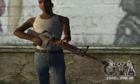 M16A1 para GTA San Andreas terceira tela