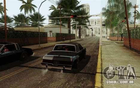 ENB HD CUDA 2014 v2.0 para GTA San Andreas segunda tela