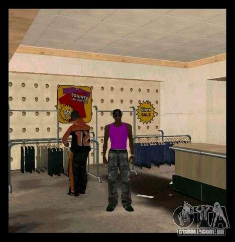 Verde e Roxo Mike para GTA San Andreas segunda tela