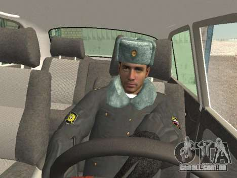 Pak policiais no inverno uniformes para GTA San Andreas sexta tela