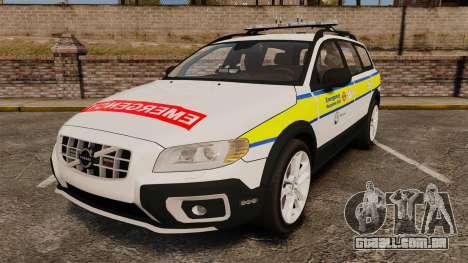 Volvo XC70 Emergency Response Unit [ELS] para GTA 4