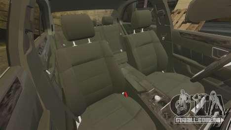 Mercedes-Benz E63 AMG 2014 para GTA 4 vista lateral