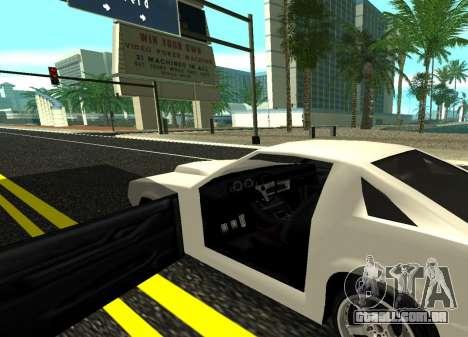 Buffalo HD para GTA San Andreas traseira esquerda vista
