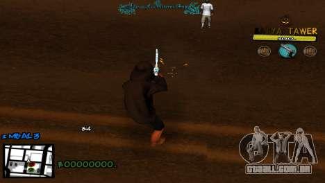 C-Hud by Baton Batya para GTA San Andreas terceira tela