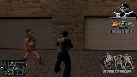 C-Hud Eazy-E para GTA San Andreas segunda tela