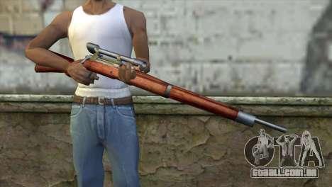 Springfield Sniper para GTA San Andreas terceira tela