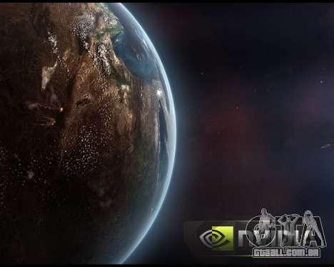 Novas telas de inicialização Espaço para GTA San Andreas sétima tela