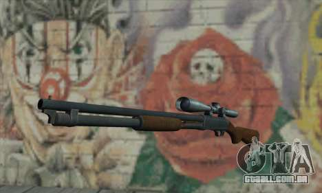 Shotgun Model 12 para GTA San Andreas