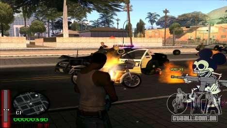 C-Hud Mickey para GTA San Andreas terceira tela
