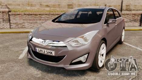 Hyundai i40 2013 Unmarked Police [ELS] para GTA 4