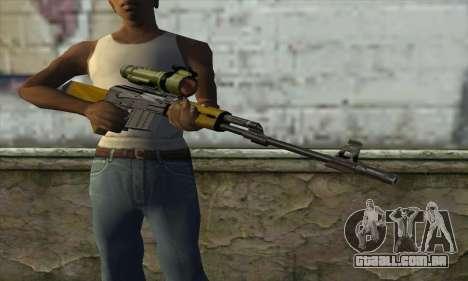 M76 para GTA San Andreas terceira tela