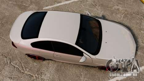 BMW M6 Vossen para GTA 4 vista direita