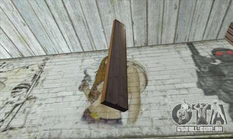 Tábuas de madeira para GTA San Andreas segunda tela
