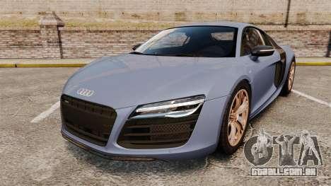 Audi R8 V10 plus Coupe 2014 [EPM] para GTA 4