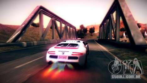 Somador de GTA V para GTA San Andreas esquerda vista