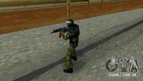 Soldado das forças especiais para GTA Vice City segunda tela