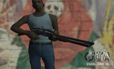 Shotgun Model 12 para GTA San Andreas terceira tela