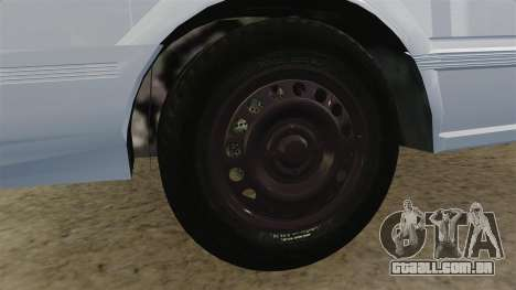 Nissan Tsuru para GTA 4 vista de volta