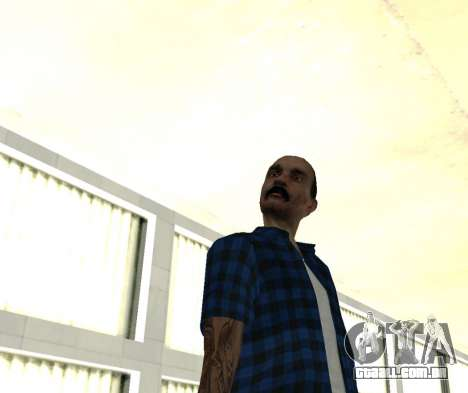 HMOST HD para GTA San Andreas terceira tela
