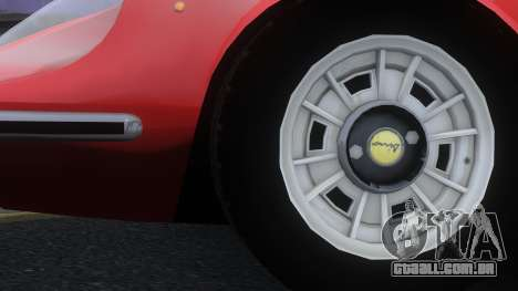 Ferrari Dino 246 GTS para GTA 4 vista direita