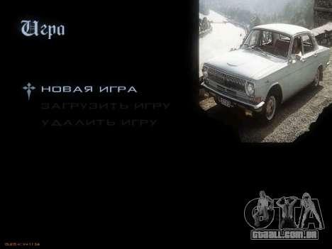 Menu Soviética carros para GTA San Andreas por diante tela