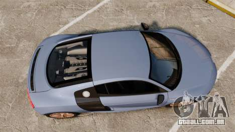 Audi R8 V10 plus Coupe 2014 [EPM] para GTA 4 vista direita