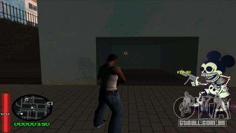 C-Hud Mickey para GTA San Andreas segunda tela