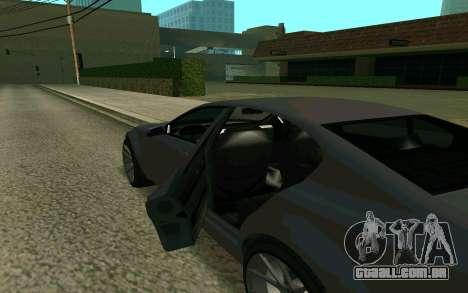 GTA V Fugitive para GTA San Andreas vista direita