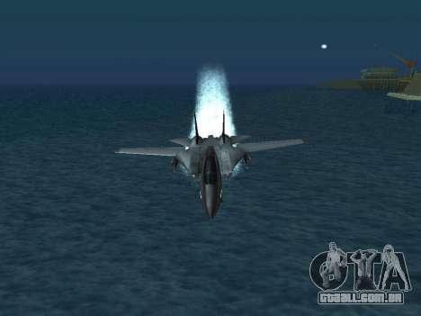 F-14 Tomcat HQ para as rodas de GTA San Andreas