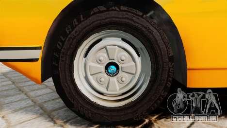 Anadol P2 500 v2 para GTA 4 vista de volta