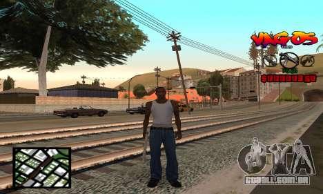 HUD Vagos para GTA San Andreas