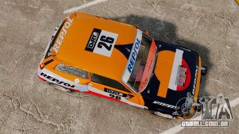 Renault 5 Maxi Turbo para GTA 4 vista direita