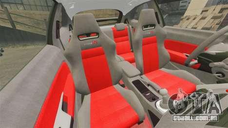 Honda Civic Type R 2007 para GTA 4 vista lateral