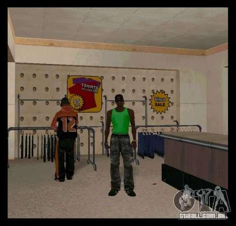 Verde e Roxo Mike para GTA San Andreas