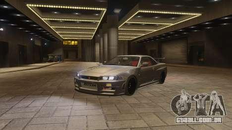 Nissan Skyline GTR-34 Nismo Z-Tune para GTA 4 vista lateral
