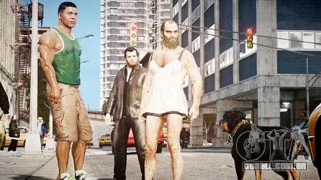 GTA V Michael De Santa para GTA 4 terceira tela