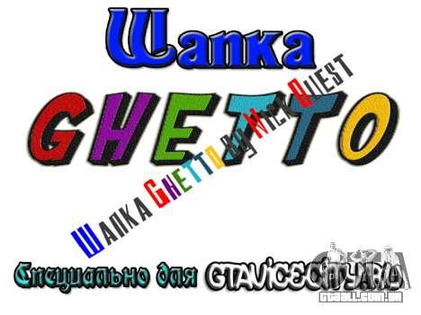 Шапка Gueto por Nick Quest para GTA San Andreas