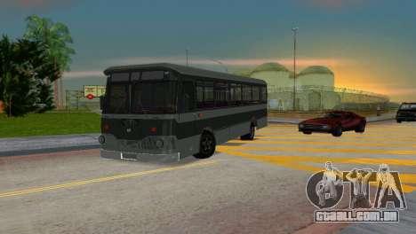 LIAZ 677 para GTA Vice City deixou vista