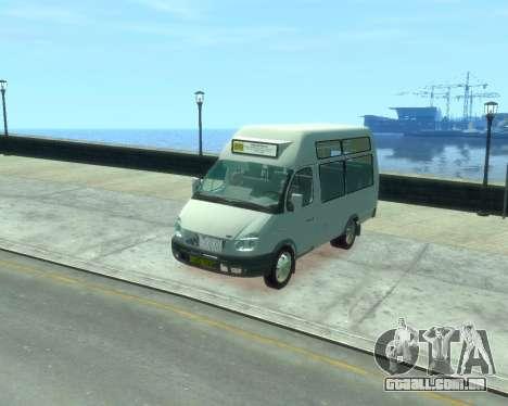 Gazela SST Ruth-16 para GTA 4