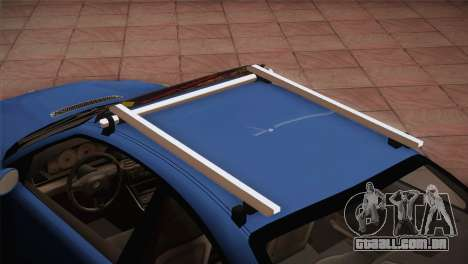 BMW M3 E46 Hellaflush para GTA San Andreas vista traseira