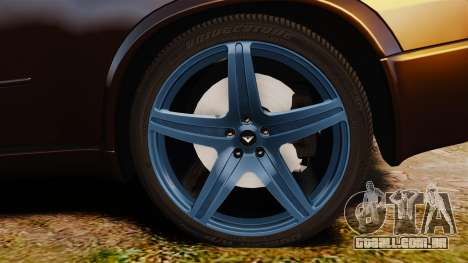 BMW X5M v2.0 para GTA 4 vista de volta