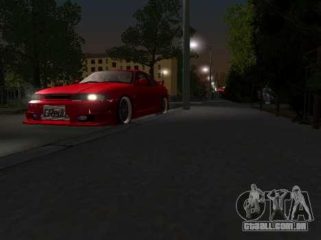 Nissan Skyline R33 GT-R V-Spec para GTA San Andreas vista interior