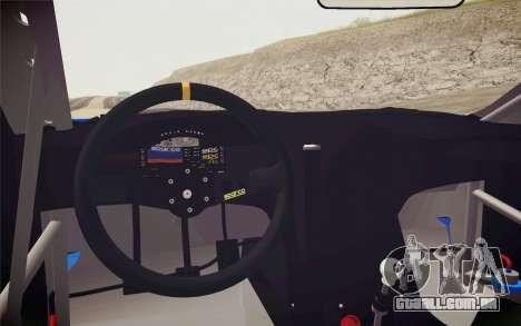 Hyundai Genesis Coupe 2010 Tuned para GTA San Andreas vista traseira