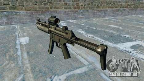 Pistola-metralhadora MP5 RIS Nom900a para GTA 4 segundo screenshot