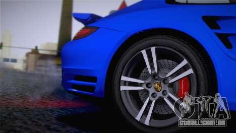 Porsche 911 Turbo Bi-Color para GTA San Andreas vista direita