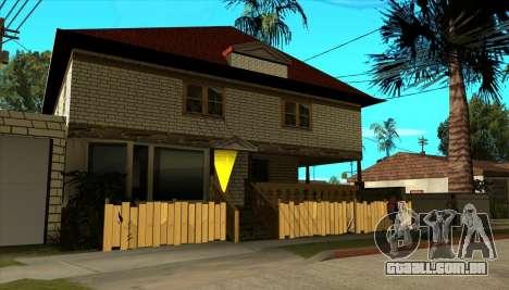 Moderna casa de Sijia v1.0 para GTA San Andreas terceira tela