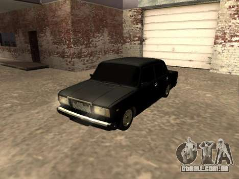 Vaz-2107 v. 1.2 Final para GTA San Andreas