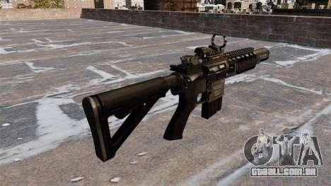 Carabina automática M4A1 Navy SEAL para GTA 4 segundo screenshot