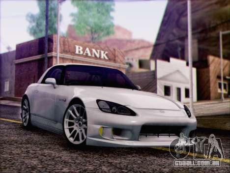 Honda S2000 Daily para GTA San Andreas vista interior